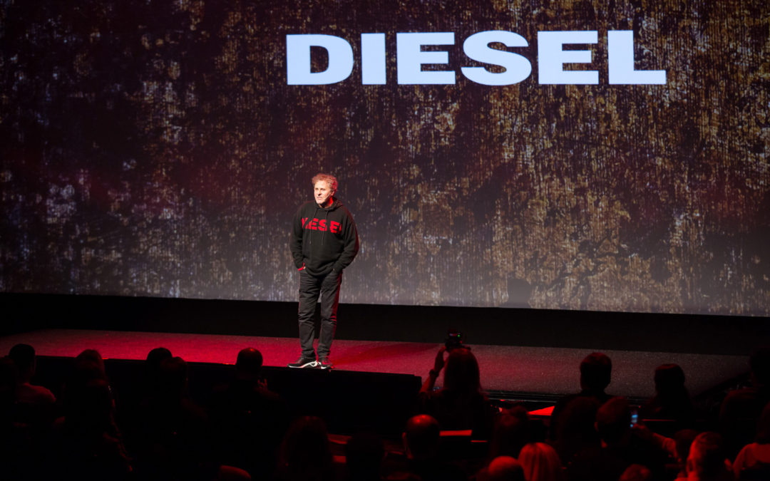 We Are on Fire is the presentation of SS18 Collection. Four days to show and inspire the new Diesel trend.