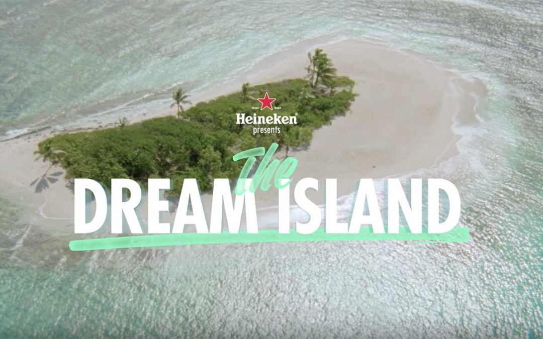 Heineken invites consumers around the world to share their unrealized dreams.  The participants can win a vacation in a dream location with high level services and amazing entertainment.