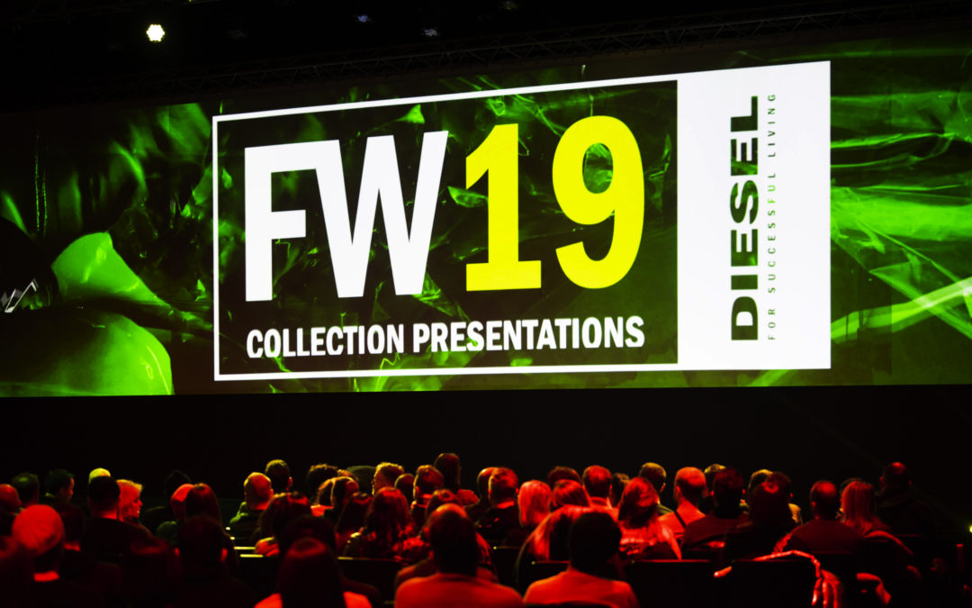 A week of workshops and meetings to present the new collection and then a big convention to share Diesel's trend guidelines