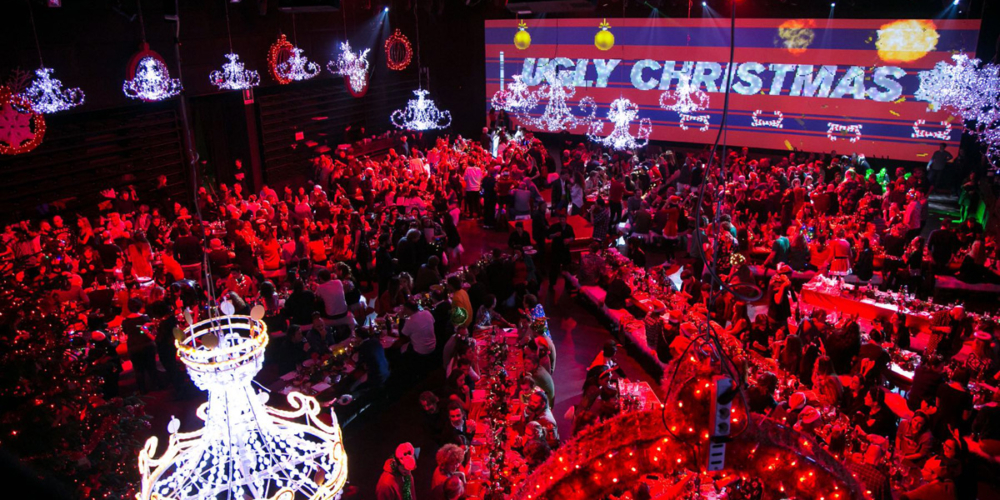 An unconventional and disruptive Christmas Party as on Diesel can be.